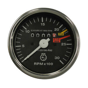 3125106r92 Tachometer For Farmall ih 454 464 484 574 Hydro 584 674 684 784