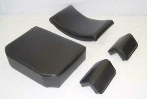 John Deere 440 1010 2010 Dozer Crawler Loader Seat Cushion Set Arm Rest 4pc New