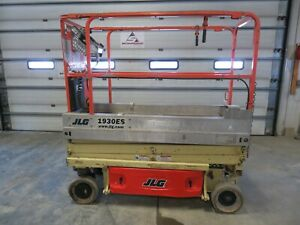 2010 Jlg 1930es 19 Electric Scissor Lift Aerial Manlift Platform Genie Iowa