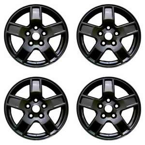 Jeep Grand Cherokee 2005 2007 17 Factory Oem Wheels Rims Set 5ht53zdjaa