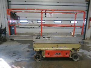 2011 Jlg 1930es 19 Electric Scissor Lift Aerial Manlift Platform Genie Iowa