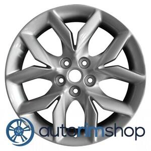 New 19 Replacement Rim For Chevrolet Impala 2014 2016 Wheel Silver 20963712