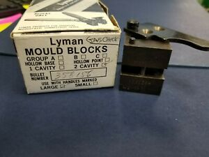 Lyman Bullet Mold (Mould) Double Cavity 358156