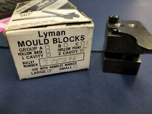 Lyman Bullet Mold (mould) 375296 Double Cavity