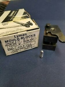 Lyman Bullet Mold (mould) 225462 single Cavity