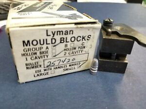Lyman Bullet Mold (Mould) Single Cavity 257420