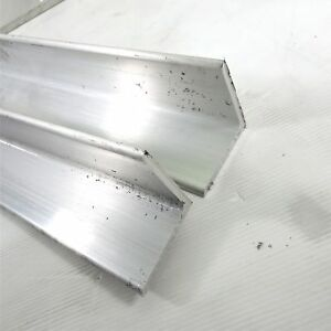 25 Thick Aluminum 3 X 3 Angle 58 Long Qty 2 Sku 174027
