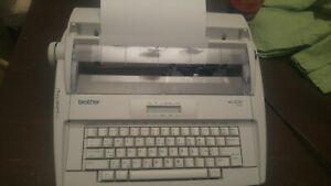 Brother Electric Typewriter Model Ml 300 With Display Tested And Working