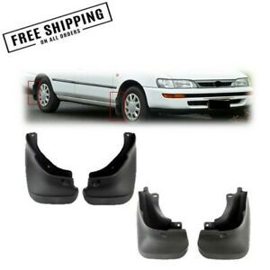 Mud Flaps Splash Guards For Toyota Corolla 93 97 Complete 4pcs