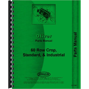 New Oliver 60 Tractor Parts Manual