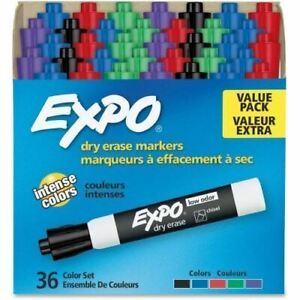 Expo Low odor Dry erase Chisel Tip Markers 1921061
