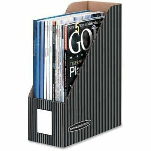 Bankers Box Pinstripe Magazine Files Letter 6170101