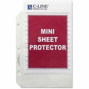 C line Top Loading Mini Size Sheet Protector 62058