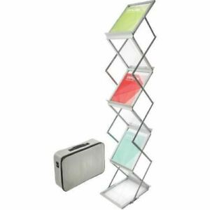Deflect o Collapsible Literature Floor Stand 791061
