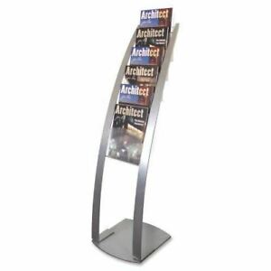 Deflect o Contemporary Literature Floor Stand 693145