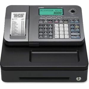 Casio Pcrt285l Electronic Cash Register Pcrt285l