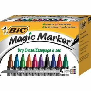 Bic Magic Marker Dry Erase Markers Gelitp241a