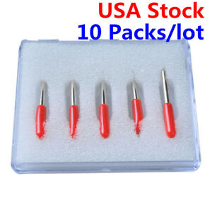 10 Packs 45 Degree Small Roland Vinyl Cutter Compatible Blades N Grade