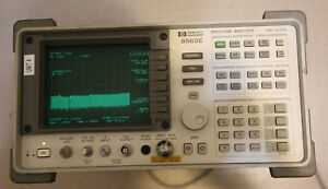 Agilent Hp 8563e Spectrum Analyzer 9khz To 26 5ghz 85620a