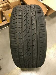 Used Continental Crosscontact Uhp 295 40 R21 8 32 9 32 Tread No Patch