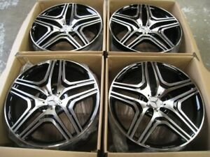 20 Ml63 Amg Style Wheels Rims Benz Gl Gl450 Gl550 Gl350 Set 4 New Mercedes