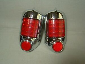 1951 1952 Chevy Led Tail Light Assemblies Coupe Convertible Coupe Sedan 51 52