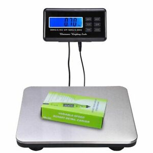 660lb 300kg Heavy Duty Digital Metal Industry Shipping Postal Scale Us