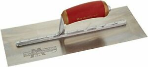 Marshalltown Pb145d 14 X 5 Permashape Broken in Trowel durasoft Handle