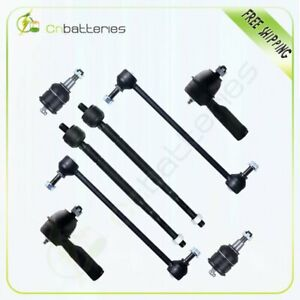 8pc Front Steering Parts Suspension Kit Ball Joint For 1999 2001 Honda Odyssey