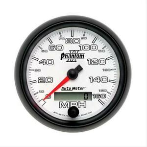 Autometer Phantom Ii Analog Speedometer 0 160 Mph 3 3 8 Dia Electrical 7588