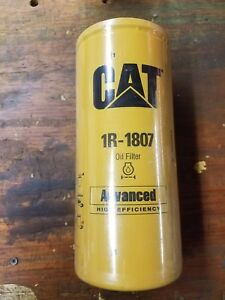 3 Ea Cat 1r 1807 Oem Genuine Oil Filter Caterpillar Ref B7700 P551807 1r1807