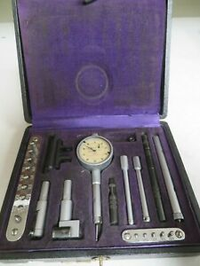 Interapid Compac Alina Denly 99 Comparator Drop Test Indicator Bore Gage Nf38