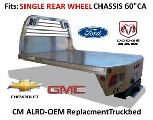 Alrd Aluminum Replacment Bed Ford Chevy Dodge Chassis Srw Truck 235407