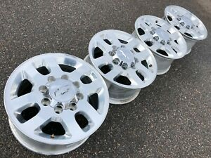18 Chevrolet Silverado 2500hd Sierra Ltz Oem Factory Stock Wheels Rims 8x180 A