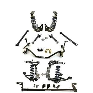 Ridetech 64 67 Gm A body Coil Over Suspension Kit Control Arms Sway Bar 11230201