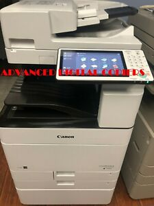 Canon Imagerunner Ir Advance C5540i Copier Color Printer Scanner Fax Low Meter