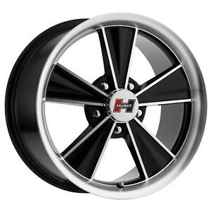 Vision Hurst Dazzler Series Gloss Black Machined Wheel Ht324 5665bmf0