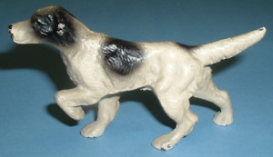 Hubley Cast Iron Hunting Pointer Dog Desk Art Paperweight Toy Early 1920 Casting