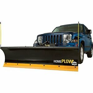 Meyer Products 25000 Home Plow Auto Angle clearing Long Driveways Fast Black