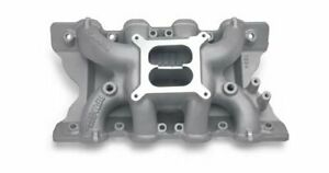 Edelbrock Performer Rpm Air gap Intake Manifold Ford 351c Fits Ford 2v Heads