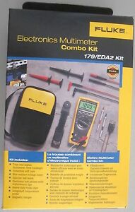 Fluke 179 Eda2 Electronics Combo Kit 179eda2 new In Box Msrp 325