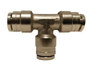 Air Suspension System Fittings 1 4 Air Hose Push In To 1 4 3 Way Tee Union