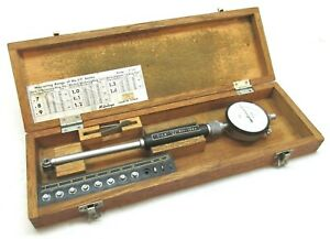 Mitutoyo 7 To 1 4 Dial Bore Gage 0001 Grads 511 163