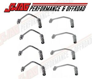 Swag Performance Fuel Injector Line Set For 2001 2004 Lb7 Duramax Diesel
