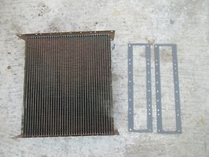 John Deere 70 720 730 80 820 830 Diesel Radiator Core New With Gaskets