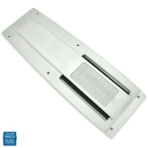 1968 1969 Camaro Console Top Plate 4 Speed Auto Billet Aluminum Brushed Clear