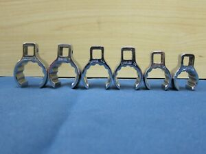 Snap On 5 Pc Set Crowfoot Deep Flare Nut Flank Drive 12pt 3 8 Dr 3 4 1 1 16