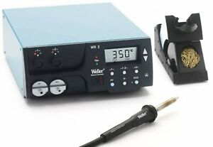 Weller Wr2000 Two Channel Digital Rework Station 300 Watt With Hap1 Hot Air