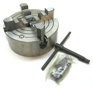 New H 8 Independent 4 jaw Lathe Chuck W D1 4 Mount k72