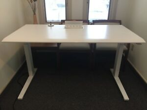 Herman Miller Renew Desk 29 d 58 l 26 Low 44 Tall Electric Stand Or Sit Desk